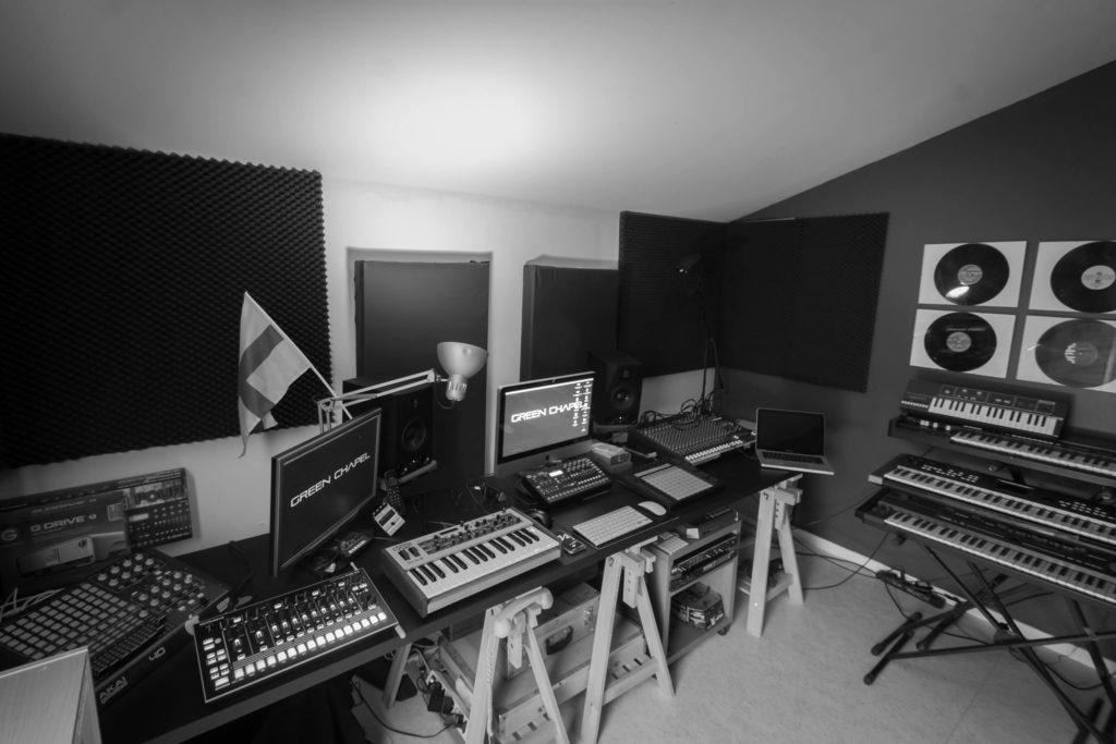 Le Home Studio de Cedrik