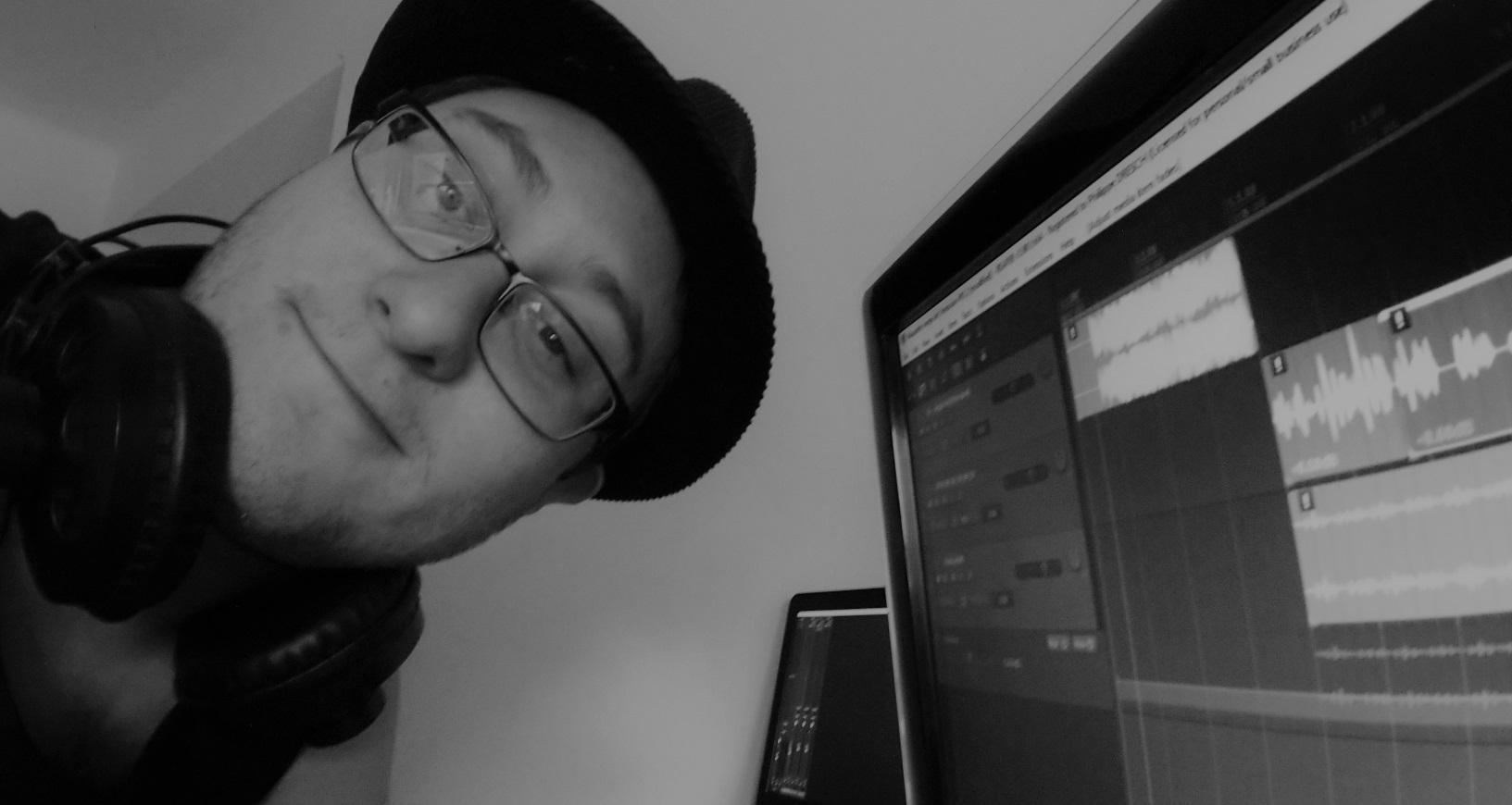 Klark D sur Reaper - Enregistrement B-Face